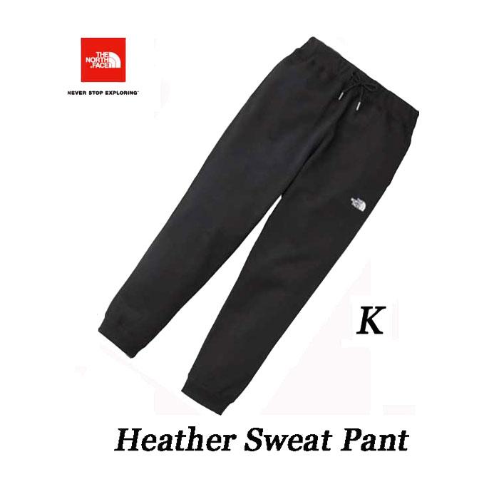 ザ ノースフェイス 2018年秋冬最新在庫 ヘザー スウェット パンツ(メンズ) The North Face Mens Heather Sweat Pant NB81831 (K)ブラック