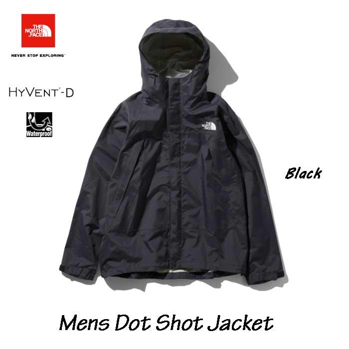 The North Face 2019秋冬最新在庫 Dot Shot Jacket ザ ノースフェイス ドットショットジャケット(メンズ) NP61930 (K)ブラック