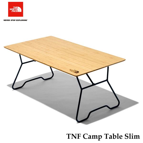 The North Face NN31901 Camp Table Slim あす楽対応 ザ ノースフェイス TNFキャンプテーブル スリム キャンプ バーベキュー アウトドア テーブル