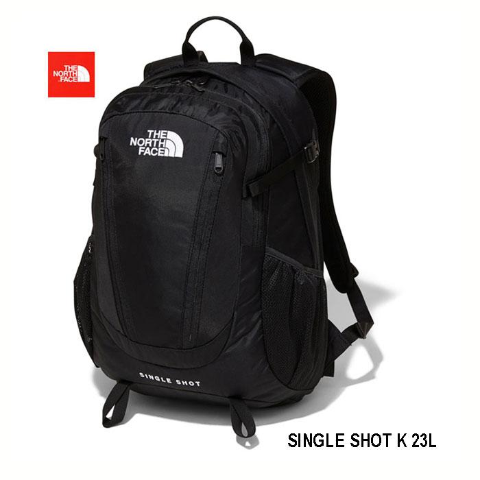The North Face NM71903 K シングル ショット 23L ワンデイハイクから日常まで、さまざまなシーンの使いやすさを追求する、定番デイパック ザ ノースフェイス Single Shot NM71903 K ブラック (K)ブラック BLACK