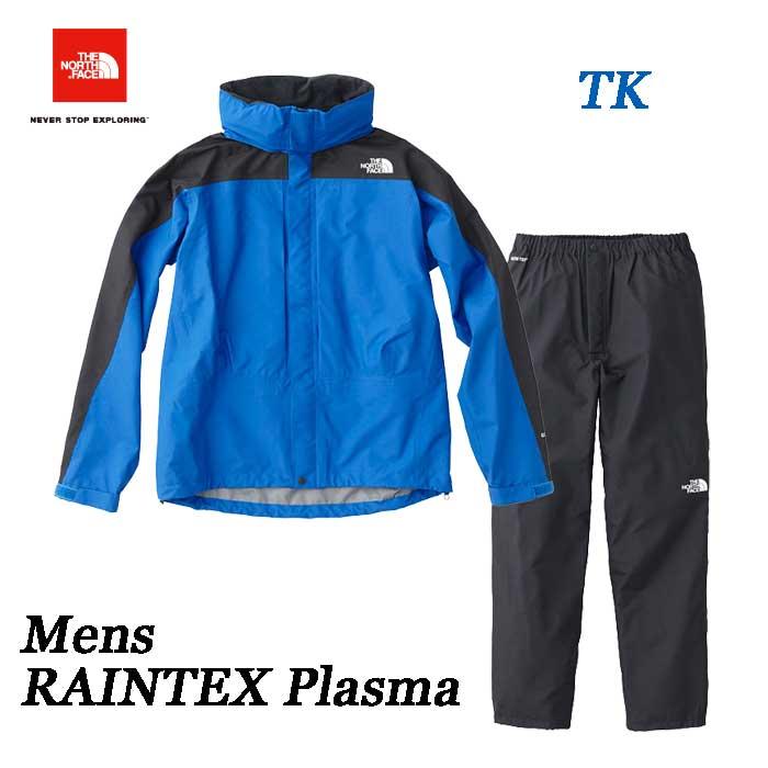 The North Face 2019年春夏最新在庫 Mens RAINTEX Plasma ザ ノースフェイス レインテックスプラズマ(メンズ) NP11700 (TK)ターキッシュブルー×ブラック