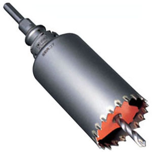 ミヤナガ 振動用コアドリル(ポリクリック)70mm ストレートシャンク