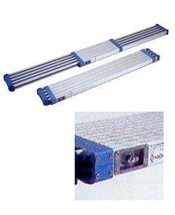 伸縮足場板 1.63m-2.8m メーカー直送品・代引不可 PICA STKD-D2823