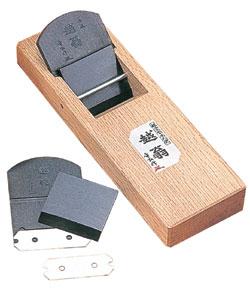 越翁 超仕上替刃式鉋 小鉋 48mm 本体 台長200mm