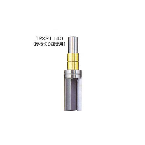 大日商 ガイドベアリング付ストレート(12×21・L40)ルーター用