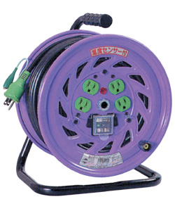 日動 アース付電工ドラム(漏電遮断機付)50m NF-EB54