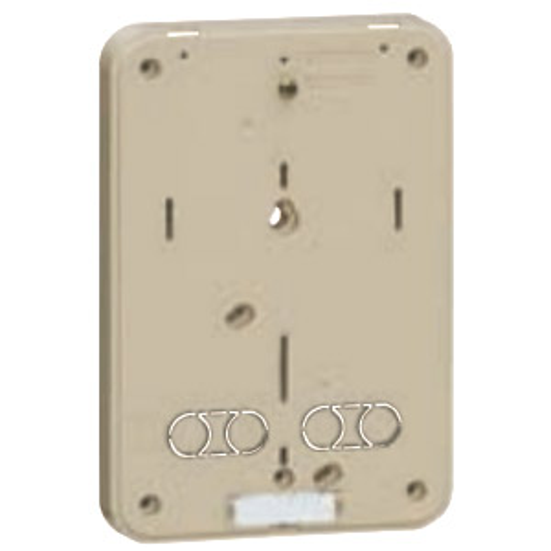 積算電力計取付板 グレー 10個価格 未来工業 B-0G