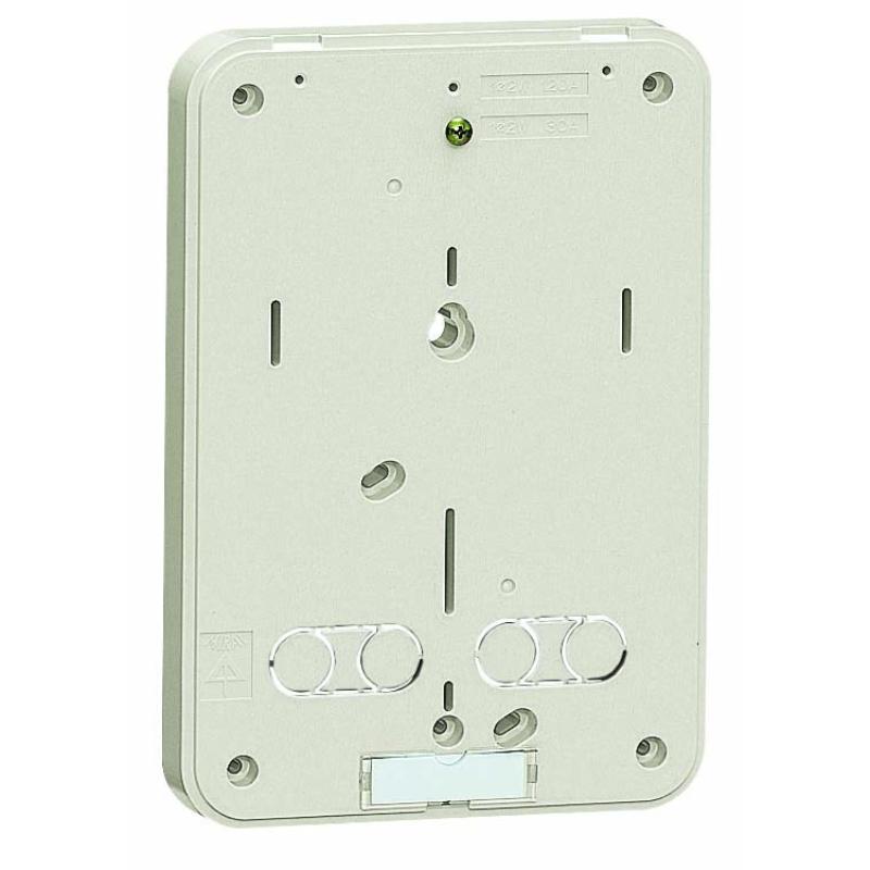 積算電力計取付板 ミルキーホワイト 10個価格 未来工業 B-0M