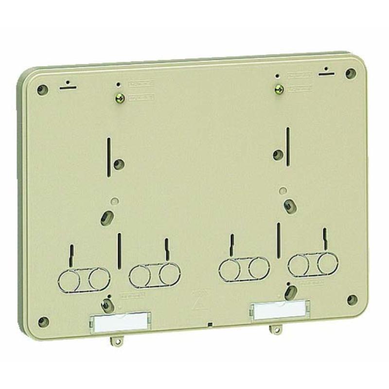 積算電力計取付板 ベージュ 10個価格 未来工業 B-0WJ