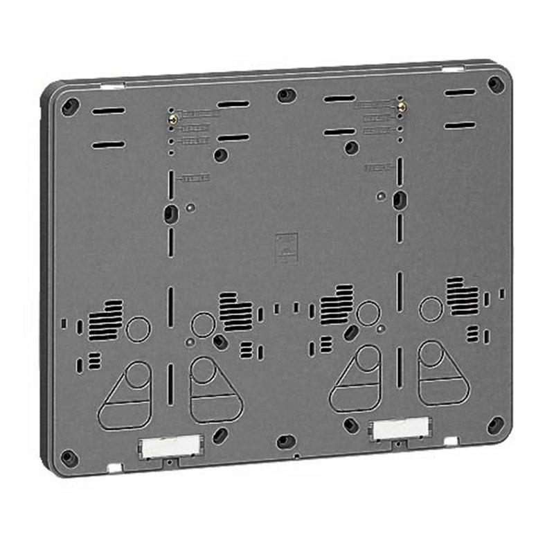 未来工業 積算電力計取付板 ダークグレー 10個価格 B-2WDG-Z