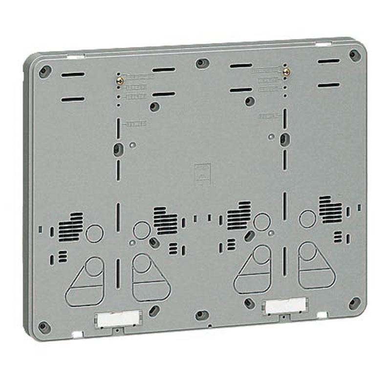 未来工業 積算電力計取付板 グレー 10個価格 B-2WG-Z