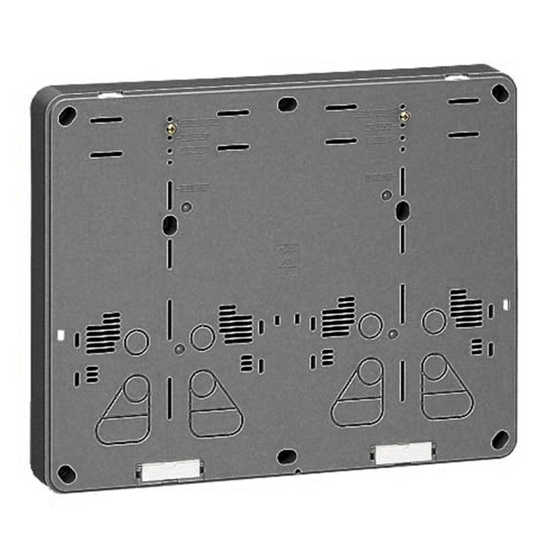 積算電力計取付板 ダークグレー 5個価格 未来工業 B-2WHDG-Z