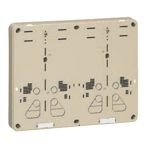 積算電力計取付板 ベージュ 5個価格 未来工業 B-2WHJ-Z