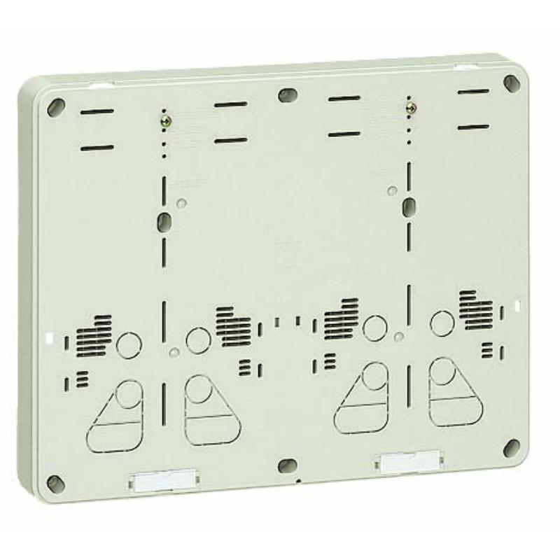 積算電力計取付板 ミルキーホワイト 5個価格 未来工業 B-2WHM