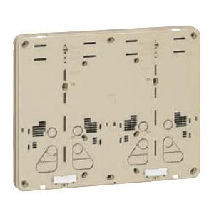 未来工業 積算電力計取付板 ベージュ 10個価格 B-2WJ-Z