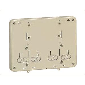 積算電力計・計器箱取付板 ベージュ BP-0WJ 10個価格 未来工業 BP-0WJ