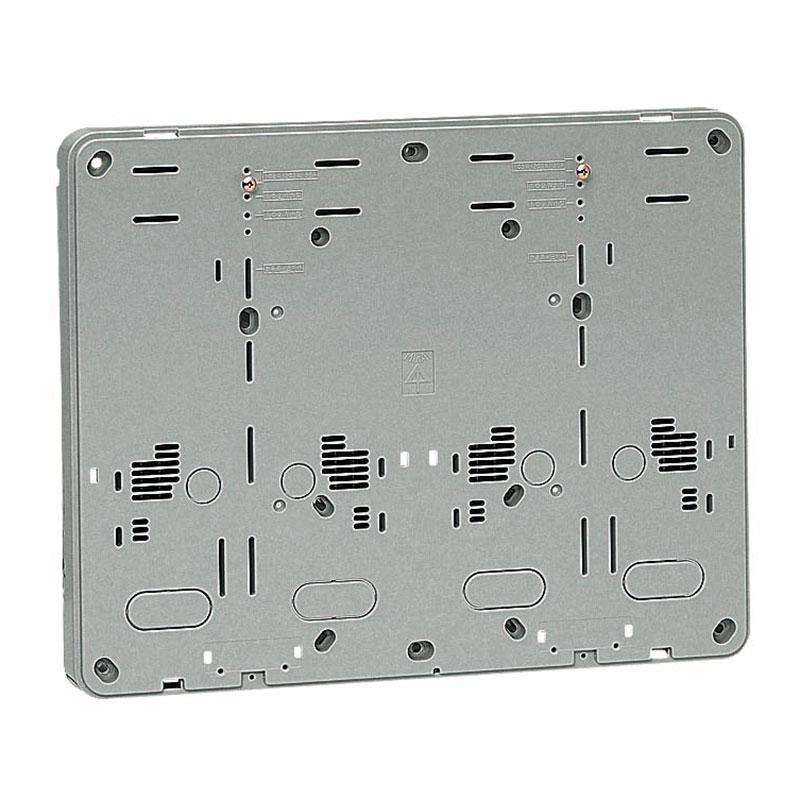 未来工業 積算電力計・計器箱取付板 グレー BP-2WG 10個価格 BP-2WG