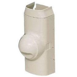 分岐ソケット(ベース付き・掃除機能付きエアコン用)(100型)黒 10個価格 未来工業 GKYBC-100K