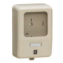 電力量計ボックス(化粧ボックス)グレー WP-0G-Z 5個価格 未来工業 WP-0G-Z