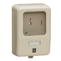 電力量計ボックス(化粧ボックス)ミルキーホワイト WP-0M-Z 5個価格 未来工業 WP-0M-Z
