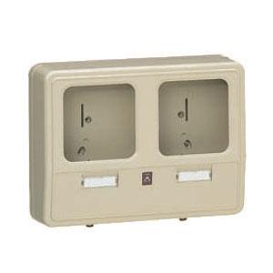 電力量計ボックス(化粧ボックス)ベージュ WP-0WJ-Z 6個価格 未来工業 WP-0WJ-Z