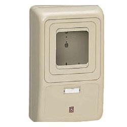 電力量計ボックス(化粧ボックス)ダークグレー WP-3DG-Z 5個価格 未来工業 WP-3DG-Z