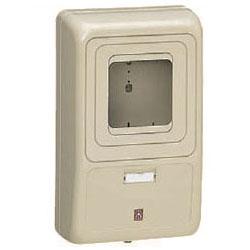 電力量計ボックス(化粧ボックス)グレー WP-3G-Z 5個価格 未来工業 WP-3G-Z