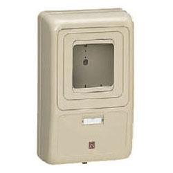 電力量計ボックス(化粧ボックス)グレー WP-3G 5個価格 未来工業 WP-3G