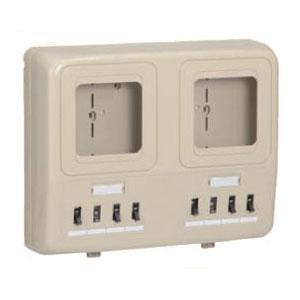 電力量計ボックス(分岐ブレーカ・ELB付)ミルキーホワイト WP2W-201KM 1個価格 未来工業 WP2W-201KM