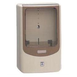 電力量計ボックス(バイザー付)ベージュ WPN-0J 5個価格 未来工業 WPN-0J