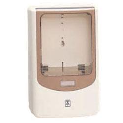 電力量計ボックス(バイザー付)ミルキーホワイト WPN-0M-Z 5個価格 未来工業 WPN-0M-Z