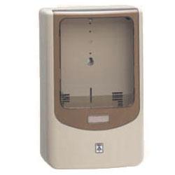 電力量計ボックス(バイザー付)ベージュ WPN-3J-Z 5個価格 未来工業 WPN-3J-Z