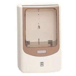 電力量計ボックス(バイザー付)ミルキーホワイト WPN-3M-Z 5個価格 未来工業 WPN-3M-Z