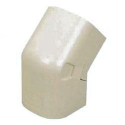エアコン配管材ダクト出ズミ45°(100型)ミルキーホワイト 10個価格 未来工業 GKDN-100M