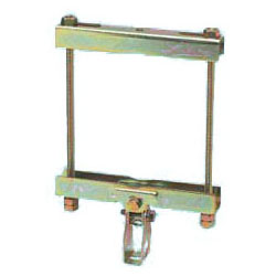 角・丸パイプ・H形鋼・C形鋼組合用(4分)適合鋼材幅90~155mm 20個価格 未来工業 SGPA-15-4