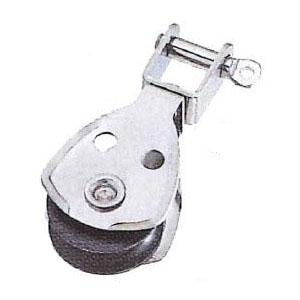 水本機械 ステンレス金具 プーリーブロック(スイベル)20個価格 PBS-25