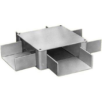 プラスチックダクト用 分岐ボックス(2方出L)(1020型)(1個価格) 未来工業