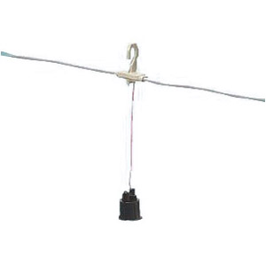 未来工業 連結防水ソケット(ベークライトソケット) ソケット24個 1セット LBS-24B
