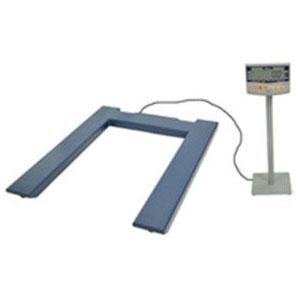 大和製衡(ヤマト) デジタル台はかり 2000kg 検定外品 メーカー直送代引不可 DP-6101U-2000