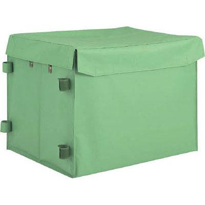 トラスコ ハンドトラックボックス 蓋つき 650×470×600mm THB-100E
