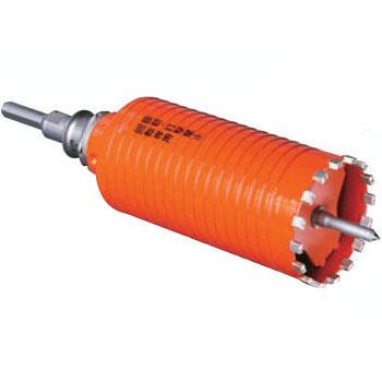 ミヤナガ ドライモンドコアドリルロングサイズ 乾式 (ポリクリック)80mm ストレートシャンク PCD8022