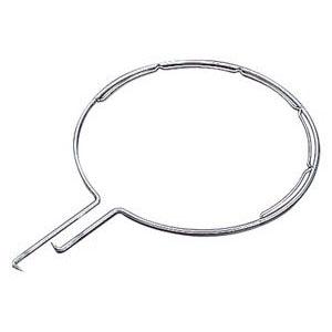 浅野金属工業 玉枠標準型丸型(内金入)サイズ8×510 5本価格 受注生産品 AK8247