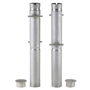 浅野金属工業 ケーシング(埋設管)(丸型76.3支柱用)長さ700mm AK22206