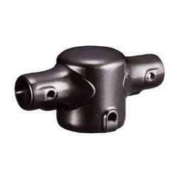浅野金属工業 鉄棒継手 Hシリーズ ツー型(塗装)H-B(押しネジタイプ) AK23701