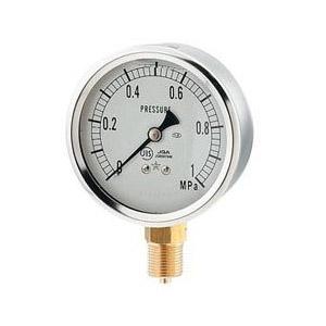 タイムセール カクダイ 永遠の定番 グリセリン圧力計 Aタイプ 649-875-05G 8×100 3