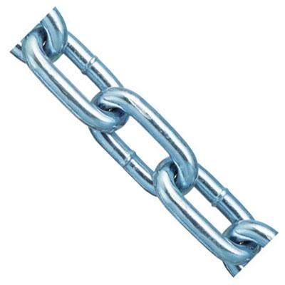 鉄チェイン(鎖)(ヘビーリンク)30m(箱入)線径11.5mmユニクロ 取寄品 ニッサチェイン IW115