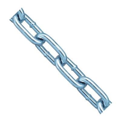 鉄チェイン(鎖)(ヘビーリンク)30m(箱入)線径8.3mmユニクロ 取寄品 ニッサチェイン IW85