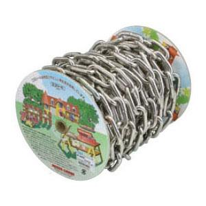 ステンレスチェイン(鎖)(ヘビーリンク) 15m巻(リール巻) 取寄品 ニッサチェイン R-SW1080