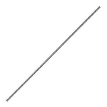 ステンレスワイヤーロープ(リール巻)100m巻 ロープ径2.5mm【取寄せ品】 ニッサチェイン R-SY25