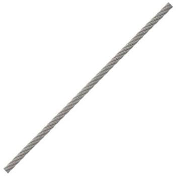 ステンレスワイヤーロープ(リール巻)50m巻 ロープ径5.0mm【取寄せ品】 ニッサチェイン R-SY50
